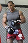 CALGARY, CANADA - JULY 18: Hector Lombard works out for the fans and media during the UFC 149 Open Workouts inside Champion's Creed Gym on July 18, 2012 in Calgary, Alberta, Canada.  (Photo by Jeff Bottari/Zuffa LLC/Zuffa LLC via Getty Images)