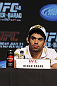 CALGARY, CANADA - JULY 19: Renan Barao attends the UFC 149 press conference at the Flames Central Sports Club on July 19, 2012 in Calgary, Alberta, Canada. (Photo by Jeff Bottari/Zuffa LLC/Zuffa LLC via Getty Images)