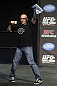 CALGARY, CANADA - JULY 20: Joe Rogan announces the fighters at the UFC 149 weigh-in at the Scotiabank Saddledome on July 20, 2012 in Calgary, Alberta, Canada.  (Photo by Jeff Bottari/Zuffa LLC/Zuffa LLC via Getty Images)