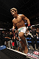 CALGARY, CANADA - JULY 21:  Urijah Faber enters the Octagon prior to facing Renan Barao during their UFC interim bantamweight championship bout at UFC 149 inside the Scotiabank Saddledome on July 21, 2012 in Calgary, Alberta, Canada.  (Photo by Nick Laham/Zuffa LLC/Zuffa LLC via Getty Images)