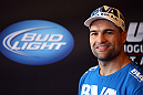 LOS ANGELES - AUGUST 01:  Mauricio &quot;Shogun&quot; Rua works out for the media during the UFC on FOX open workouts at the J.W. Marriott on August 1, 2012 in Los Angeles, California. (Photo by Josh Hedges/Zuffa LLC/Zuffa LLC via Getty Images)