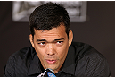 LOS ANGELES - AUGUST 02: Lyoto Machida attends the UFC on FOX press conference at the J.W. Marriott on August 2, 2012 in Los Angeles, California. (Photo by Josh Hedges/Zuffa LLC/Zuffa LLC via Getty Images)