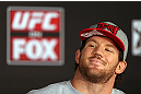 LOS ANGELES - AUGUST 02: Ryan Bader attends the UFC on FOX press conference at the J.W. Marriott on August 2, 2012 in Los Angeles, California. (Photo by Josh Hedges/Zuffa LLC/Zuffa LLC via Getty Images)