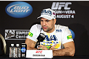 LOS ANGELES - AUGUST 02: Mauricio ''Shogun'' Rua attends the UFC on FOX press conference at the J.W. Marriott on August 2, 2012 in Los Angeles, California. (Photo by Josh Hedges/Zuffa LLC/Zuffa LLC via Getty Images)