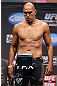 LOS ANGELES - AUGUST 03: Brandon Vera makes weight during the UFC on FOX weigh in at Staples Center on August 3, 2012 in Los Angeles, California. (Photo by Josh Hedges/Zuffa LLC/Zuffa LLC via Getty Images)