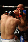 LOS ANGELES, CA - AUGUST 04:  Brandon Vera (R) elbows Shogun Rua (L) in their light heavyweight bout during the UFC on FOX at Staples Center on August 4, 2012 in Los Angeles, California. Rua defeated Vera by way of TKO in the fourth round.  (Photo by Josh Hedges/Zuffa LLC/Zuffa LLC via Getty Images)