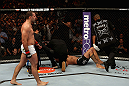 LOS ANGELES, CA - AUGUST 04:  Maurico 'Shogun' Rua walks away after knocking out Brandon Vera in the fourth round during the UFC on FOX at Staples Center on August 4, 2012 in Los Angeles, California.  (Photo by Josh Hedges/Zuffa LLC/Zuffa LLC via Getty Images)