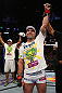 LOS ANGELES, CA - AUGUST 04:  Maurico &#39;Shogun&#39; Rua celebrates after defeating Brandon Vera by TKO in the fourth round during the UFC on FOX at Staples Center on August 4, 2012 in Los Angeles, California.  (Photo by Josh Hedges/Zuffa LLC/Zuffa LLC via Getty Images)