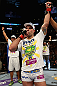 LOS ANGELES, CA - AUGUST 04:  Maurico 'Shogun' Rua celebrates after defeating Brandon Vera by TKO in the fourth round during the UFC on FOX at Staples Center on August 4, 2012 in Los Angeles, California.  (Photo by Josh Hedges/Zuffa LLC/Zuffa LLC via Getty Images)