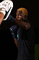 DENVER, CO - AUGUST 08:  Melvin Guillard works out for the media during the UFC 150 open workouts at the Muscle Pharm Sports Science Center on August 8, 2012 in Denver, Colorado. (Photo by Josh Hedges/Zuffa LLC/Zuffa LLC via Getty Images)