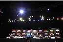 DENVER, CO - AUGUST 09: UFC 150 press conference at the Fillmore Auditorium on August 9, 2012 in Denver, Colorado. (Photo by Josh Hedges/Zuffa LLC/Zuffa LLC via Getty Images)