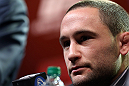 DENVER, CO - AUGUST 09:  Frankie Edgar interacts with media and fans during the UFC 150 press conference at the Fillmore Auditorium on August 9, 2012 in Denver, Colorado. (Photo by Josh Hedges/Zuffa LLC/Zuffa LLC via Getty Images)
