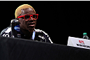 DENVER, CO - AUGUST 09:  Melvin Guillard interacts with media and fans during the UFC 150 press conference at the Fillmore Auditorium on August 9, 2012 in Denver, Colorado. (Photo by Josh Hedges/Zuffa LLC/Zuffa LLC via Getty Images)