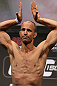 DENVER, CO - AUGUST 10:  Jared Hamman makes weight during the UFC 150 weigh in at Pepsi Center on August 10, 2012 in Denver, Colorado. (Photo by Josh Hedges/Zuffa LLC/Zuffa LLC via Getty Images)