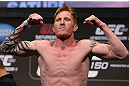 DENVER, CO - AUGUST 10:  Ed Herman makes weight during the UFC 150 weigh in at Pepsi Center on August 10, 2012 in Denver, Colorado. (Photo by Josh Hedges/Zuffa LLC/Zuffa LLC via Getty Images)