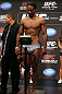 DENVER, CO - AUGUST 10:  Benson Henderson makes weight during the UFC 150 weigh in at Pepsi Center on August 10, 2012 in Denver, Colorado. (Photo by Josh Hedges/Zuffa LLC/Zuffa LLC via Getty Images)