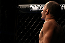 DENVER, CO - AUGUST 11:  Chico Camus enters the Octagon before his bout against Dustin Pague at UFC 150 inside Pepsi Center on August 11, 2012 in Denver, Colorado. (Photo by Josh Hedges/Zuffa LLC/Zuffa LLC via Getty Images)