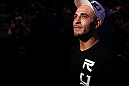 DENVER, CO - AUGUST 11:  Chico Camus exits the Octagon after his victory against Dustin Pague at UFC 150 inside Pepsi Center on August 11, 2012 in Denver, Colorado. (Photo by Josh Hedges/Zuffa LLC/Zuffa LLC via Getty Images)