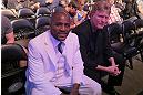DENVER, CO - AUGUST 11:  Strikeforce&#39;s Lumumba Sayers attends UFC 150 inside Pepsi Center on August 11, 2012 in Denver, Colorado. (Photos by Zuffa LLC)
