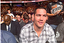 DENVER, CO - AUGUST 11:  UFC fighter Chris Weidman attends UFC 150 inside Pepsi Center on August 11, 2012 in Denver, Colorado. (Photos by Zuffa LLC)