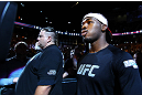 ATLANTA, GA - APRIL 21:  Jon Jones arrives for his light heavyweight title bout against Rashad Evans for UFC 145 at Philips Arena on April 21, 2012 in Atlanta, Georgia.  (Photo by Al Bello/Zuffa LLC/Zuffa LLC via Getty Images) *** Local Caption *** Jon Jones