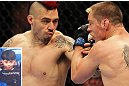 """The Outlaw"" Dan Hardy's hair has transformed from a classic bowl-cut to a wild-child mohawk, and his skills have evolved even more dramatically since he first joined the UFC. See him next in Nottingham at UFC on FUEL TV 5 on September 29."