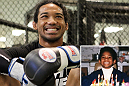 He's bigger now with more tattoos, muscles and skills, but lightweight champion Benson Henderson still has the same ear-to-ear grin.