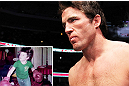 The always-controversial Chael Sonnen is known for his wrestling pedigree, but as you can see, he's been honing his stand-up skills since he was small.