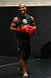 TORONTO, CANADA - SEPTEMBER 19:  Demetrious Johnson works out for fans and media during the UFC 152 open workouts at Xtreme Couture Gym on September 19, 2012 in Toronto, Ontario, Canada.  (Photo by Josh Hedges/Zuffa LLC/Zuffa LLC via Getty Images)