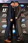 TORONTO, CANADA - SEPTEMBER 20: (L-R) Opponents Michael Bisping and Brian Stann face off during the UFC 152 pre-fight press conference at Real Sports Bar and Grill on September 20, 2012 in Toronto, Ontario, Canada. (Photo by Josh Hedges/Zuffa LLC/Zuffa LLC via Getty Images)