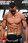 TORONTO, CANADA - SEPTEMBER 21: Kyle Noke weighs in during the UFC 152 weigh in at Mattamy Athletic Centre at the Gardens on September 21, 2012 in Toronto, Ontario, Canada. (Photo by Josh Hedges/Zuffa LLC/Zuffa LLC via Getty Images)