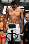 TORONTO, CANADA - SEPTEMBER 21: Vinny Magalhaes weighs in during the UFC 152 weigh in at Mattamy Athletic Centre at the Gardens on September 21, 2012 in Toronto, Ontario, Canada. (Photo by Josh Hedges/Zuffa LLC/Zuffa LLC via Getty Images)