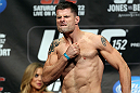 TORONTO, CANADA - SEPTEMBER 21: Brian Stann weighs in during the UFC 152 weigh in at Mattamy Athletic Centre at the Gardens on September 21, 2012 in Toronto, Ontario, Canada. (Photo by Josh Hedges/Zuffa LLC/Zuffa LLC via Getty Images)