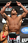 TORONTO, CANADA - SEPTEMBER 21: Vitor Belfort weighs in during the UFC 152 weigh in at Mattamy Athletic Centre at the Gardens on September 21, 2012 in Toronto, Ontario, Canada. (Photo by Josh Hedges/Zuffa LLC/Zuffa LLC via Getty Images)