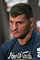 NOTTINGHAM, ENGLAND - SEPTEMBER 27:  Stipe Miocic interacts with media during a UFC press conference at the Hilton Hotel on September 27, 2012 in Nottingham, England.  (Photo by Josh Hedges/Zuffa LLC/Zuffa LLC via Getty Images)