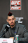 NOTTINGHAM, ENGLAND - SEPTEMBER 27:  Dan Hardy interacts with media during a UFC press conference at the Hilton Hotel on September 27, 2012 in Nottingham, England.  (Photo by Josh Hedges/Zuffa LLC/Zuffa LLC via Getty Images)