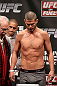 NOTTINGHAM, ENGLAND - SEPTEMBER 28:  Matt Wiman weighs in during the UFC on Fuel TV weigh in at Capital FM Arena on September 28, 2012 in Nottingham, England.  (Photo by Josh Hedges/Zuffa LLC/Zuffa LLC via Getty Images)