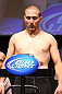 MINNEAPOLIS, MN - OCTOBER 04:  Mike Pierce weighs in during the UFC on FX weigh in at Pantages Theater on October 4, 2012 in Minneapolis, Minnesota.  (Photo by Josh Hedges/Zuffa LLC/Zuffa LLC via Getty Images)
