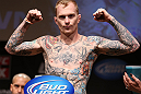 MINNEAPOLIS, MN - OCTOBER 04:  Bart Palaszewski weighs in during the UFC on FX weigh in at Pantages Theater on October 4, 2012 in Minneapolis, Minnesota.  (Photo by Josh Hedges/Zuffa LLC/Zuffa LLC via Getty Images)