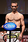 MINNEAPOLIS, MN - OCTOBER 04:  Jacob Volkmann weighs in during the UFC on FX weigh in at Pantages Theater on October 4, 2012 in Minneapolis, Minnesota.  (Photo by Josh Hedges/Zuffa LLC/Zuffa LLC via Getty Images)