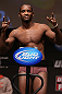 MINNEAPOLIS, MN - OCTOBER 04:  Yves Edwards weighs in during the UFC on FX weigh in at Pantages Theater on October 4, 2012 in Minneapolis, Minnesota.  (Photo by Josh Hedges/Zuffa LLC/Zuffa LLC via Getty Images)