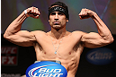 MINNEAPOLIS, MN - OCTOBER 04:  Danny Castillo weighs in during the UFC on FX weigh in at Pantages Theater on October 4, 2012 in Minneapolis, Minnesota.  (Photo by Josh Hedges/Zuffa LLC/Zuffa LLC via Getty Images)