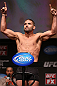 MINNEAPOLIS, MN - OCTOBER 04:  Jeremy Stephens weighs in during the UFC on FX weigh in at Pantages Theater on October 4, 2012 in Minneapolis, Minnesota.  (Photo by Josh Hedges/Zuffa LLC/Zuffa LLC via Getty Images)