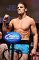 MINNEAPOLIS, MN - OCTOBER 04:  Jake Ellenberger weighs in during the UFC on FX weigh in at Pantages Theater on October 4, 2012 in Minneapolis, Minnesota.  (Photo by Josh Hedges/Zuffa LLC/Zuffa LLC via Getty Images)