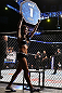MINNEAPOLIS, MN - OCTOBER 05:  UFC Octagon Girl Arianny Celeste introduces a round at the UFC on FX event at Target Center on October 5, 2012 in Minneapolis, Minnesota.  (Photo by Josh Hedges/Zuffa LLC/Zuffa LLC via Getty Images)
