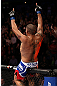MINNEAPOLIS, MN - OCTOBER 05:  Antonio Silva reacts after knocking out Travis Browne during their heavyweight fight at the UFC on FX event at Target Center on October 5, 2012 in Minneapolis, Minnesota.  (Photo by Josh Hedges/Zuffa LLC/Zuffa LLC via Getty Images)