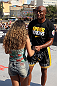RIO DE JANEIRO, BRAZIL - OCTOBER 10:  Anderson Silva greets a fan after an open training session ahead of UFC 153 at Arcos da Lapa: Praca Cardeal Camara on October 10, 2012 in Rio de Janeiro, Brazil.  (Photo by Josh Hedges/Zuffa LLC/Zuffa LLC via Getty Images)
