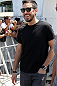 RIO DE JANEIRO, BRAZIL - OCTOBER 10:  Musician Mike Shinoda of Linkin Park attends the UFC 153 open workouts at Arcos da Lapa: Praca Cardeal Camara on October 10, 2012 in Rio de Janeiro, Brazil.  (Photo by Josh Hedges/Zuffa LLC/Zuffa LLC via Getty Images)