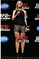 RIO DE JANEIRO, BRAZIL - OCTOBER 12:  UFC reporter Paula Sack hosts a Q&amp;A session with fighters Lyoto Machida and Jose Aldo before the UFC 153 weigh in at HSBC Arena on October 12, 2012 in Rio de Janeiro, Brazil.  (Photo by Josh Hedges/Zuffa LLC/Zuffa LLC via Getty Images)