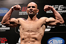 RIO DE JANEIRO, BRAZIL - OCTOBER 12:  Glover Teixeira weighs in during the UFC 153 weigh in at HSBC Arena on October 12, 2012 in Rio de Janeiro, Brazil.  (Photo by Josh Hedges/Zuffa LLC/Zuffa LLC via Getty Images)
